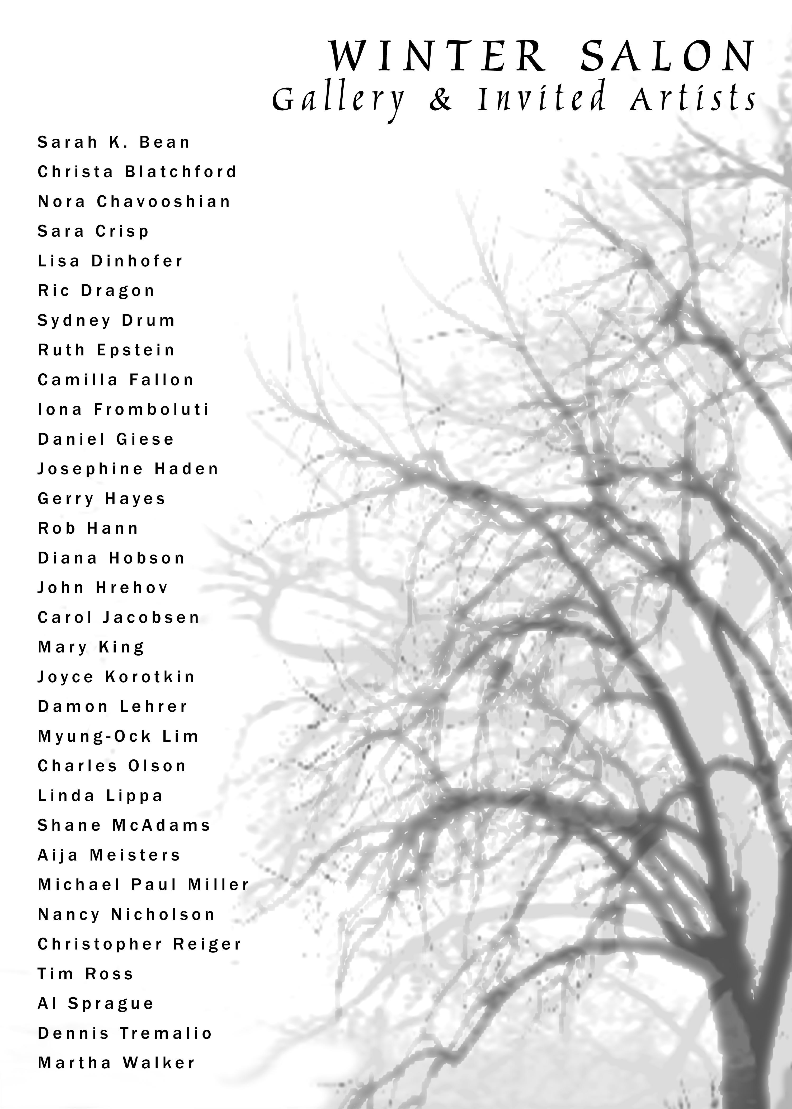 Winter Salon: Gallery & Invited Artists